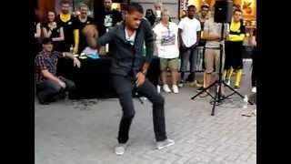 Dancing to Chris Brown-Beautiful people