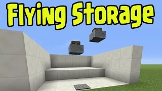 Minecraft PS3 / Xbox 360 - FLYING MINECART CHEST STORAGE (Title Update 1.8 / TU31)