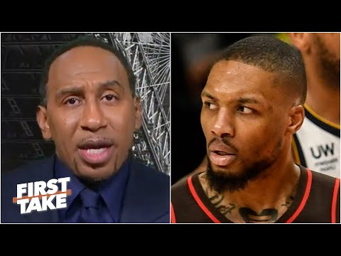 Stephen A. reacts to the Blazers losing to the Nuggets in the playoffs | First Take