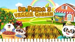 Dr. Panda Veggie Garden YouTube video