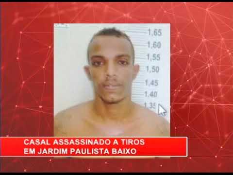 [RONDA GERAL] Casal é assassinado a tiros em Jardim Paulista Baixo