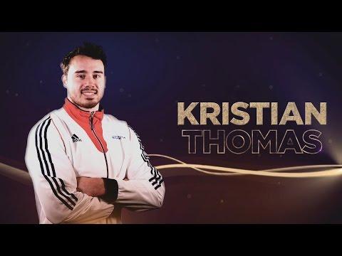 Kristian Thomas - Yurchenko double pike - Gymnastics ...