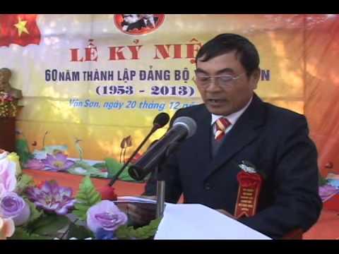 Lễ kỷ niệm 60 năm thành lập Đảng bộ xã Vân Sơn, huyện Triệu Sơn pas 3