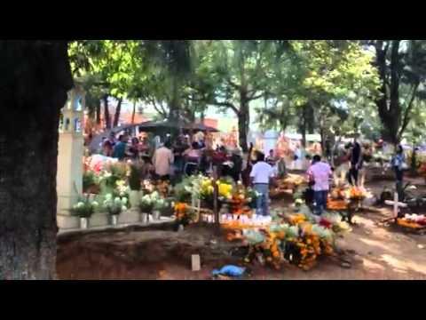Graveyard Polka Day of the Dead Tzintzuntzan, Mexico