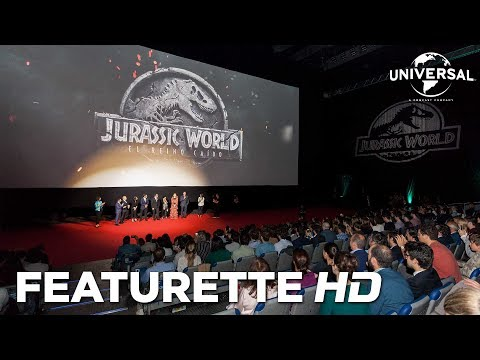 Jurassic World: El Reino Caído - Premiere Mundial en Madrid?>
