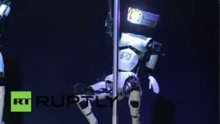 This Is Something You Can Not Unsee: Robotic Pole Dancers