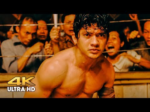 Jaka (Iko Uwais) vs Long Fei. Underground fight without rules. Triple Threat
