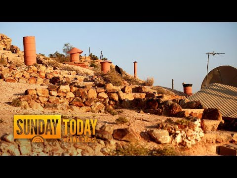 This Opal-Mining Community Gives 'Down Under' A Whole New Meaning | Sunday TODAY