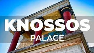 Spacer po pałacu Knossos