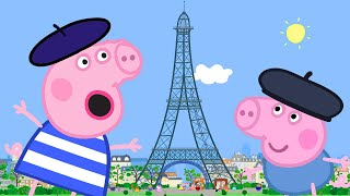 Video Peppa Pig Full Episodes | Peppa Goes to Paris | Cartoons for Children MP3, 3GP, MP4, WEBM, AVI, FLV Juli 2019