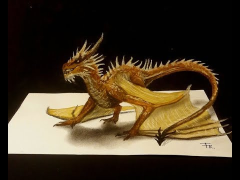 Video Drawing a 3d dragon - How to draw a dragon download in MP3, 3GP, MP4, WEBM, AVI, FLV January 2017