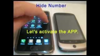 Hide Number (Caller Id) YouTube video