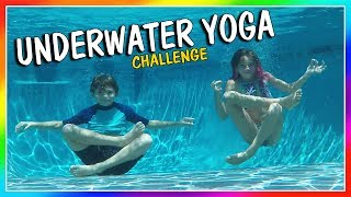 """Kayla and Tyler are challenged to do yoga poses underwater in our new swimming pool. You guys get to vote on who did the best at these poses! Subscribe https://www.youtube.com/c/wearethedavises?sub_confirmation=1Our mailing address:We Are The Davises28241 Crown Valley Pkwy Suite F #613Laguna Niguel , CA 92677""""We Are The Davises"""" is an entertaining family vlog channel based in Florida. Our daily videos show our real life moments, challenges, funny skits, and traveling adventures. Shawn is an outstanding father and husband that enjoys coaching children in team sports like football and wrestling. Connie is very creative with our channel as she makes everything in our lives as fun and entertaining as possible while still molding our kids into the amazing people they are today. Kayla is currently 12 years old. Her passion is competitive cheer leading and loves all animals from fluffy puppies to the little frogs. Tyler is 11 years old and is obsessed with playing video games and team sports such as football. We are excited to share our fun filled journey!Check out our gaming channel We Are The Davises Gaming if you love gaming videos.https://www.youtube.com/channel/UCShsPtvK0WzxjljpN4rhVzgPlease be sure to check out all of our social media platforms that we have listed below for you.Twitter:  https://twitter.com/wearethedavisesFacebook:  https://www.facebook.com/wearethedavises/Instagram: https://www.instagram.com/wearethedavises/Google+: https://plus.google.com/u/0/+WeAreTheDavises2016/postsSnapchat:  https://www.snapchat.com/add/wearethedavisesMusical.ly:  wearethedavisesDo you like certain types of videos? Come and check out the playlists that we have setup to make it easier for you to watch what you like.Here is a playlist of all our daily videos. https://www.youtube.com/playlist?list=PL1SgveIsSpIqtjNq-QnGHSHxv410nkJfyThis playlist was put together specifically for all you Kayla fans.https://www.youtube.com/playlist?list=PL1SgveIsSpIq9mItnfiQyqIO7g1-v28PMThis is a fun"""