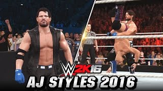 The Phenomenal AJ Styles turns up in WWE 2K16! WWE 2K16 Community creator