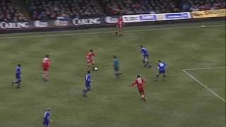 Ian Rush trifft nach schöner Vorarbeit gegen Leicester