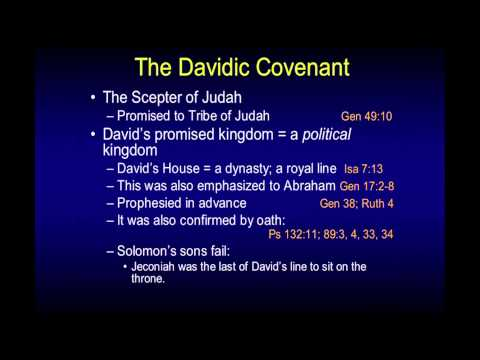 The Davidic Covenant - Chuck Missler