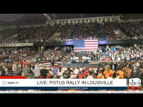 Download FULL EVENT: President Donald Trump Holds MASSIVE Rally in Louisville, KY 3/20/17 HD Mp4 3GP Video and MP3