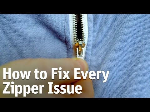 How to Fix Every Zipper Issue