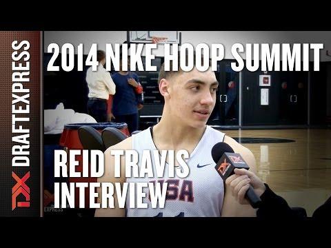 Reid Travis - 2014 Nike Hoop Summit - Interview