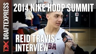 Reid Travis - 2014 Nike Hoop Summit - Interview