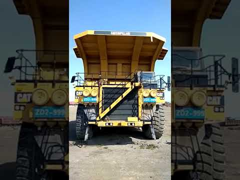 Caterpillar CAMIOANE PENTRU TEREN DIFICIL 793D equipment video wrTkYP7sIOc