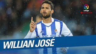 Don't miss Willian Jose Best Goals this season LaLiga Santander 2016/2017!Subscribe to the Official Channel of LaLiga in High Definition http://goo.gl/Cp0tCLaLiga Santander on YouTube: http://goo.gl/Cp0tCLaCopa on YouTube: http://bit.ly/1P4ZriPLaLiga 123 on YouTube: http://bit.ly/1OvSXbiFacebook: https://www.facebook.com/lfpoficialTwitter: https://twitter.com/LaLigaInstagram: https://instagram.com/laligaGoogle+: http://goo.gl/46Py9