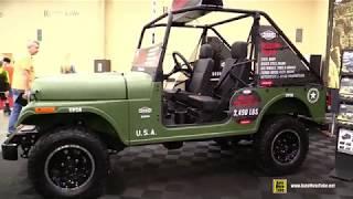 10. 2019 Roxor Mahindra Military Style Off Road Vehicle - Walkaround - 2018 AIMExpo Las Vegas