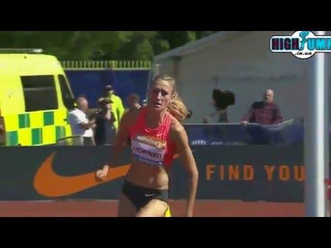 1.97 Kamila Licwinko Diamond League Birmingham ( women high jump )