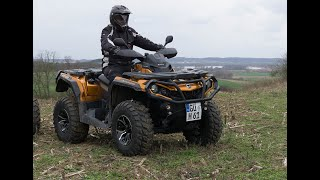 4. can am outlander max 1000 r limited on tour erste Cam fahrt HD