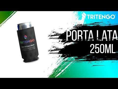 Porta Lata Palito 250ml em Neoprene Personalizado para Brinde Corporativo