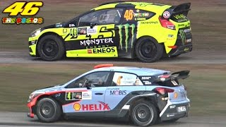 Video Valentino Rossi Vs. Daniel Sordo - 2016 Monza Rally Show MP3, 3GP, MP4, WEBM, AVI, FLV November 2017