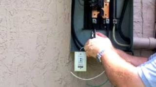Installing a whole surge suppressor at you main AC panel
