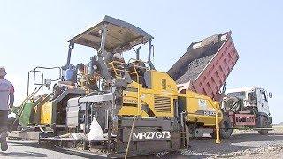 Paving Machine Road Work Sumitomo HA90C Asphalt PaverRelated Videos :Excavator Accident Kobelco SK200 Fuso Self Loader Truck Heavy Recovery   https://www.youtube.com/watch?v=ICOPK--lg-8Excavator Stuck Kobelco SK200 End of Recovery   https://www.youtube.com/watch?v=kY7hj792ft8Stuck Concrete Mixer Truck Heavy Recovery   https://www.youtube.com/watch?v=LK6PLnzFc98Mini Excavator Stuck Heavy Recovery Komatsu PC75UU  https://www.youtube.com/watch?v=3S9_7v59Bw0Excavator Stuck In Mud Kobelco SK200 Heavy Recovery Extended   https://www.youtube.com/watch?v=xy0NJr6WiyMMini Excavator Heavy Recovery Kobelco SK200   https://www.youtube.com/watch?v=OQuK_zIVmOQExcavator And Dozer Working On Road Costruction Site   https://www.youtube.com/watch?v=y_teBRYkIr8Dump Truck Delivering And Unloading Dirt At Road Construction Site   https://www.youtube.com/watch?v=5NC7iOSlMaAAsphalt Eater Machine Working SAKAI ER501F Cold Milling   https://www.youtube.com/watch?v=X4scDsUywJUDump Truck Stuck Recovery By Komatsu D85E-SS Dozer   https://www.youtube.com/watch?v=uPIPBXwf5GgQuester Self Loader Truck Moving Tire Roller   https://www.youtube.com/watch?v=tP441urn90YLarge Excavator Working On Road Construction   https://www.youtube.com/watch?v=giFm4XtCRVwSelf Loader Truck Unloading Komatsu D85E-SS Bulldozer Working   https://www.youtube.com/watch?v=wfHW7zWqSAkEpic Dump Truck Stuck Off Road Recovery Part 2   https://www.youtube.com/watch?v=RbXXcZx1khEEpic Dump Truck Stuck Off Road Recovery Part 1   https://www.youtube.com/watch?v=VUbycrsciNwEpic Dump Truck Off Road   https://www.youtube.com/watch?v=YmGKGqh5mS0Large Excavator Work CAT 336D LME Swingging Dirt   https://www.youtube.com/watch?v=CW_UgsKmPzsBulldozer CAT D6R Hard Working On Road Construction   https://www.youtube.com/watch?v=EVs8ocV2-AEFB : http://www.facebook.com/MrZygy3Twitter : http://twitter.com/Zygy3Web : http://zygy3.comInstagram : https://www.instagram.com/mrzygy3  WARNING!!! NO TV BROADCAST WITHOUT PERMISSION!!!  NO RE-UPLOAD!!!MrZy