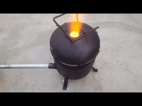 Download Make a Simple Metal Foundry Using Empty Gas Cylinder.