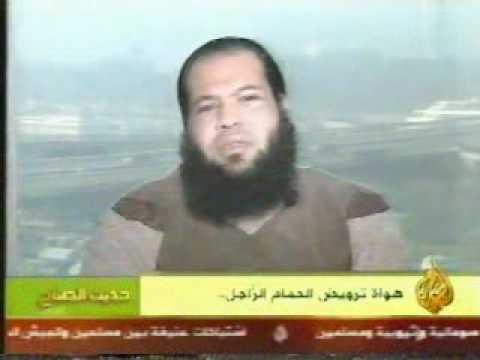 اشرف الهاشمى والحمام الزاجل على قناة الجزيرة1-1