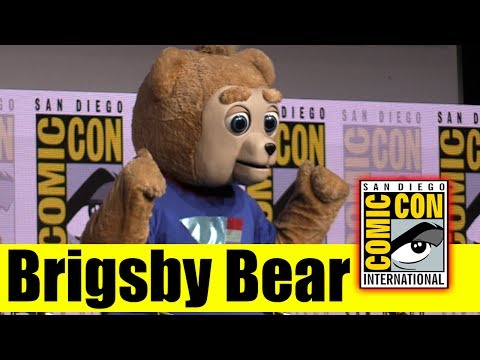BRIGSBY BEAR | Comic Con 2017 Full Panel (The Film Stars Claire Danes, Mark Hamill, & Kyle Mooney)