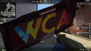 WCA 2017 Asia closed Qualifier || Chiefs vs Recca bo1