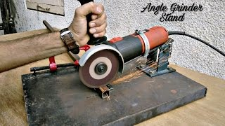 Video Homemade Angle Grinder Stand / Angle Grinder Support.. MP3, 3GP, MP4, WEBM, AVI, FLV April 2019