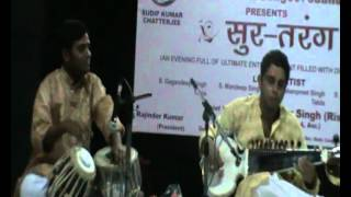 APURBA BANERJEE (SAROD) AND SUDIP CHATTERJI (TABLA)