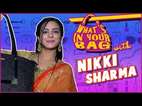 NIKKI SHARMA aka ROSHNI Handbag SECRET REVEALED |