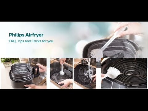 Philips Air fryer: How to clean Air fryer