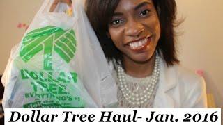 Dollar Tree Haul-  January 2016