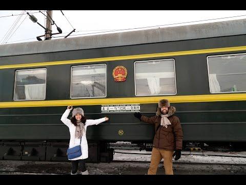 Trans Siberian / Trans Mongolian Railroad: Winter 2016 (видео)
