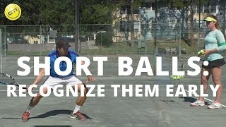 When dealing with short balls the first key is to recognize them early. Once your recognize the short ball it becomes a lot easier to...