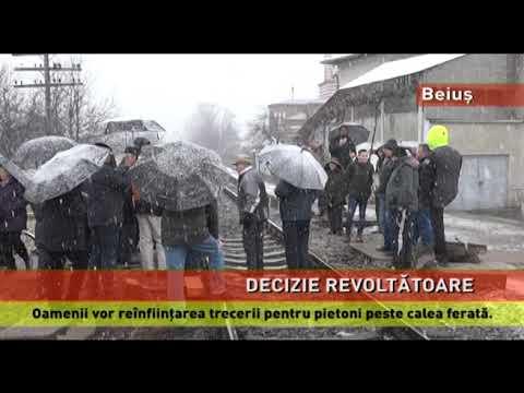 Locuitorii din Beiuș, revoltați din cauza desființării unei treceri peste calea ferată