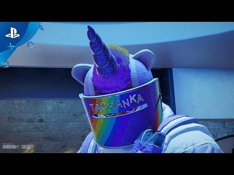 Rainbow Six Siege - Rainbow is Magic Bundle: New on the Six | PS4 - Thời lượng: 42 giây.