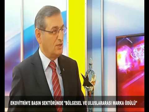 EKOVİTRİN'E BÖLGESEL VE ULUSLARARASI MARKA ÖDÜLÜ