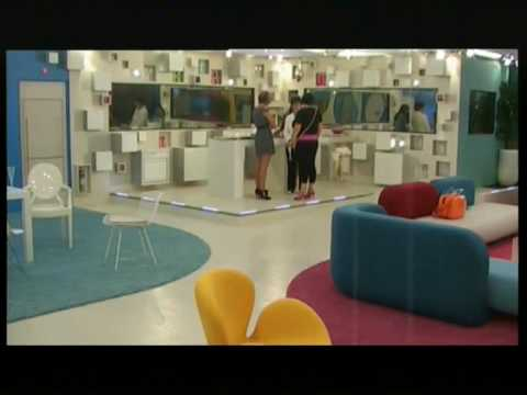 Big Brother 8 Girls size up their Breasts even some Touching