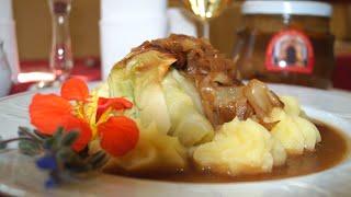 Krautwickel | Kohlroulade an Kartoffelstampf - das Gericht der Sächsischen Schweiz
