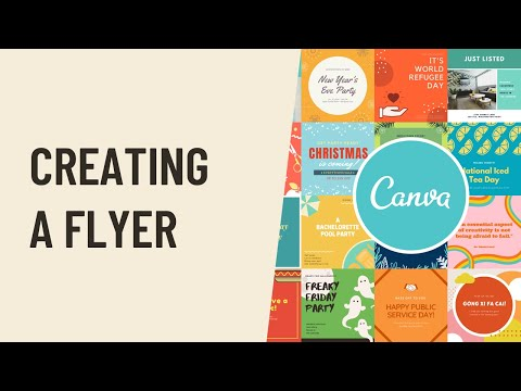 Canva: Creating a Flyer